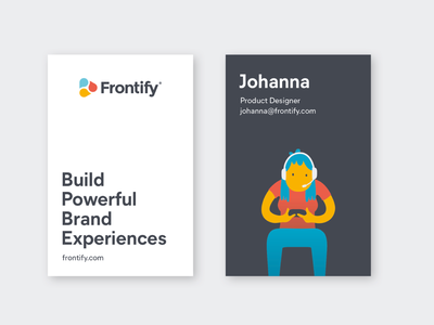 Business Cards branding illustration print design frontify business cards businesscard