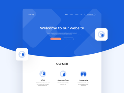 Landing Pages UI Exploration