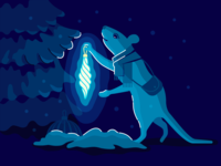 Mouse, symbol of the coming 2020, is preparing for the new year
