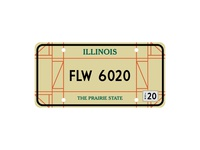 IL License Plate