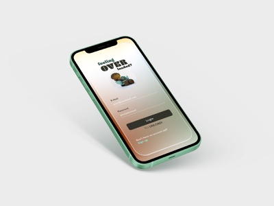 Mobile Psychologist - Sign Up Page therapy gradient iphone 12 signup page render excavator dailyui screen mockup mobile app low poly cinema 4d c4d ui 3d vector 2d icon illustration