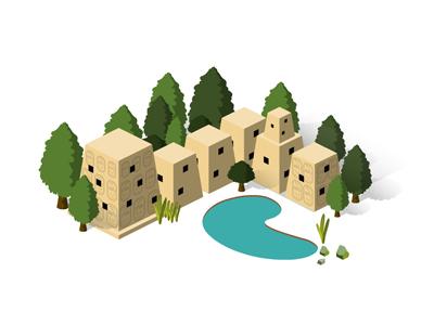 Building set 06 house01 dribbble400 300