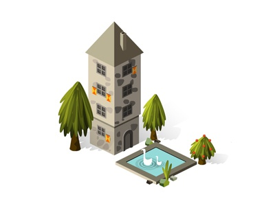 Building set 03 house01 dribbble400 300
