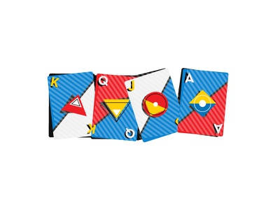 Playing Cards deck warmup game style playing card play minimal illustrator idea flat design shape geometric dynamic dribbleweeklywarmup dimaonds 2d card design icon illustration