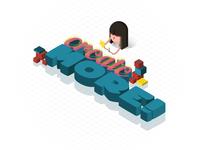 Create More! Isometric
