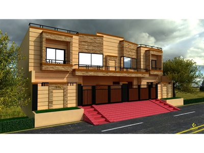 Afzal's House Exterior Design
