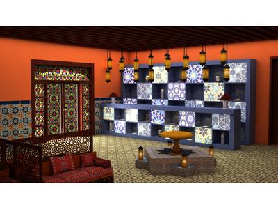 Reception Moroccan Restaurant