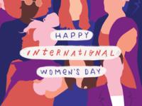 Happy International Women's Day'
