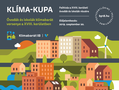 Klímabarát18 - Climate change strategy event poster (detail)