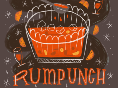 The 12 Drinks of Christmas - Rum punch