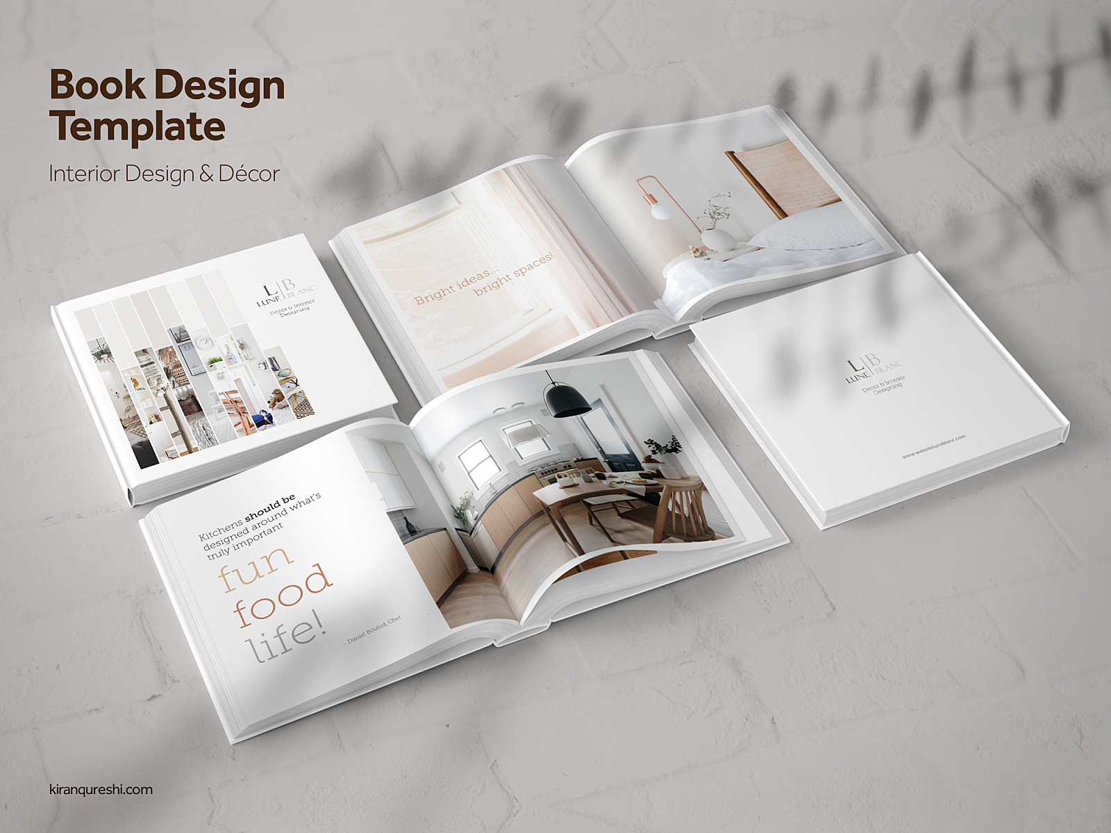 Coffee Table Book | Interior Design & Décor by Kiran Qureshi ...