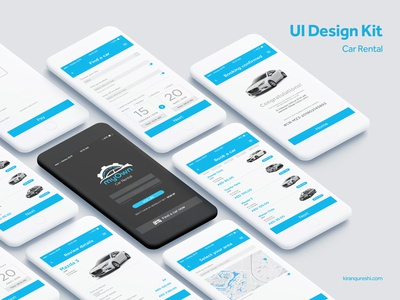 UI Design Kit | Car Rental