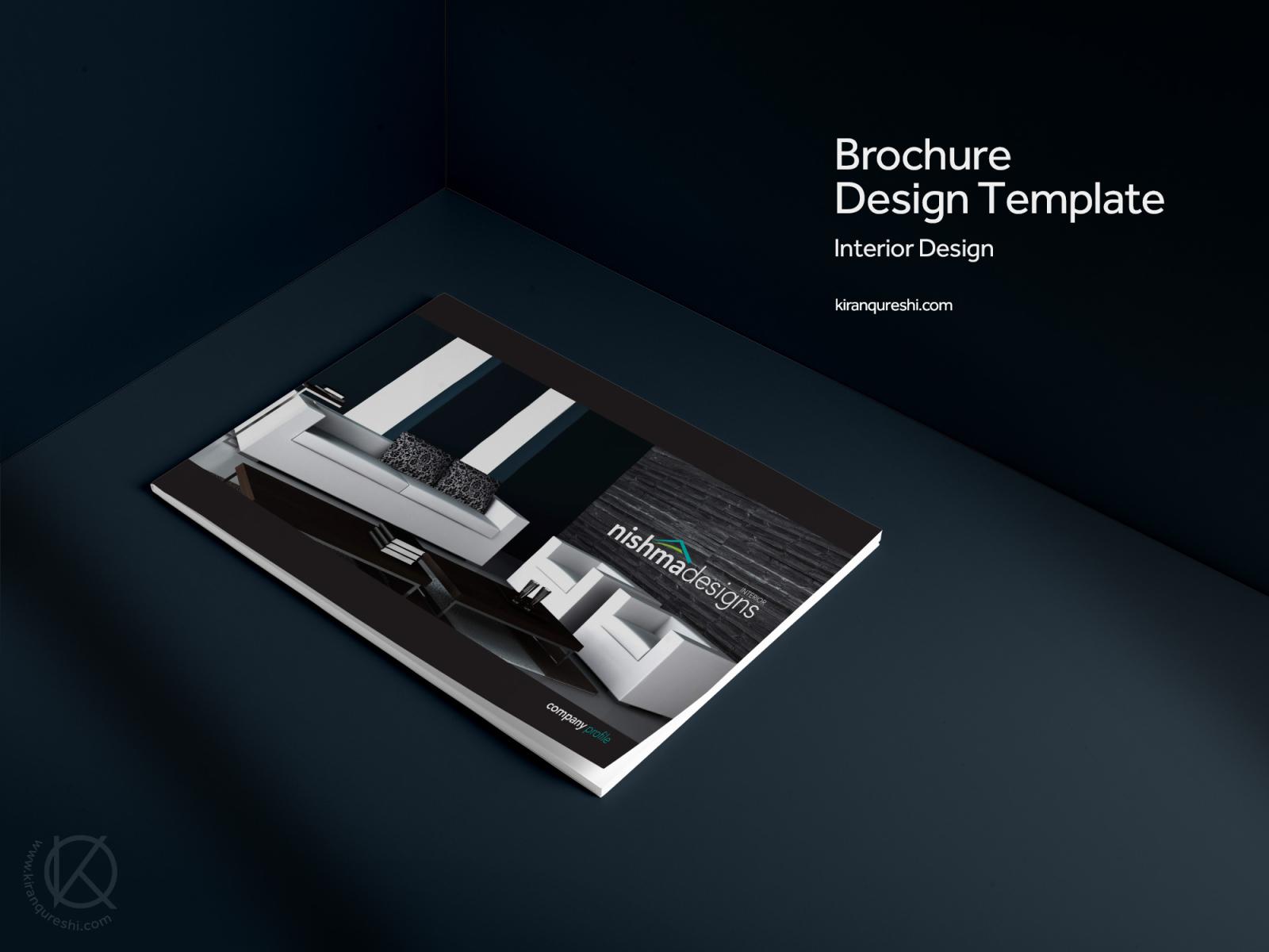 Company Profile Brochure Interior Design By Kiran Qureshi On Dribbble