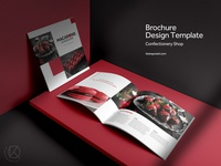 Brochure Design Template | Confectionery