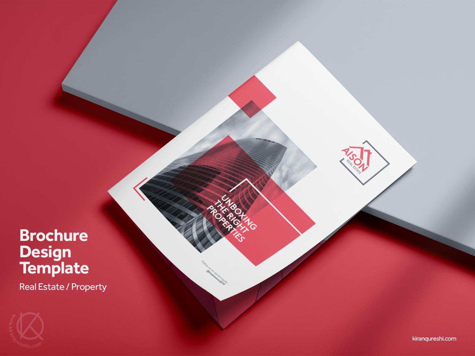 Company Profile Brochure | Real Estate & Property by Kiran
