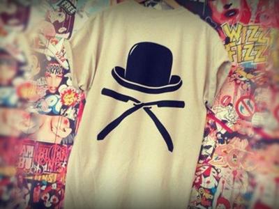 Alpha Bhoys fashion alphabhoys razor alpha bhoys streetwear bowler hat cut throat t-shirt