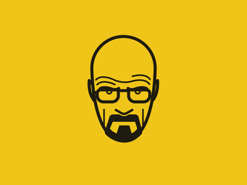 Heisenberg heisenberg breaking bad walter white face illustration vectors