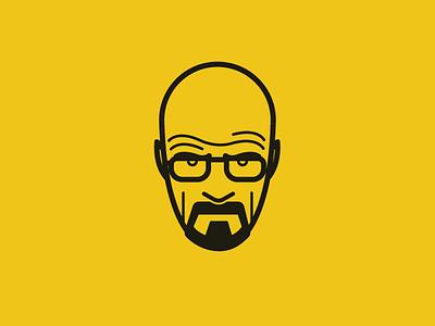 Heisenberg heisenberg breaking bad walter white face illustration vectors