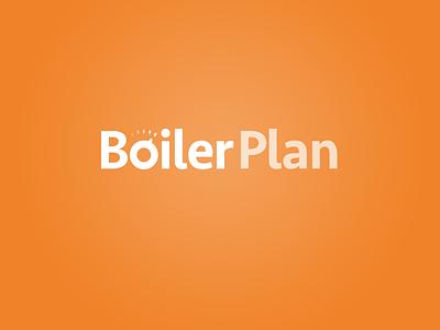 Boilerplan logo boiler heating plumber thromostat warm installation