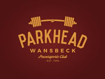 Parkhead weights handshake barbell oldskool retro weightlifting powerlifting