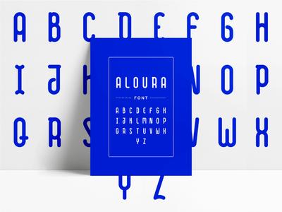Aloura . Font