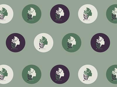 :::Kaya Institut::: nature logo woman woman logo brand design vector illustration design logo branding
