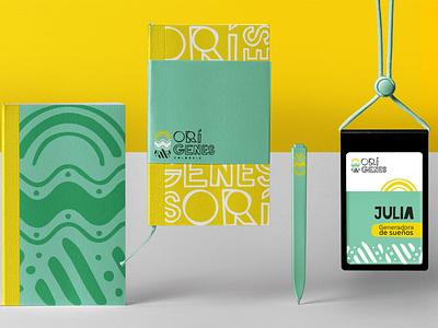 ::: ORÍGENES ::: graphic design nature logo brand design design typography logo branding