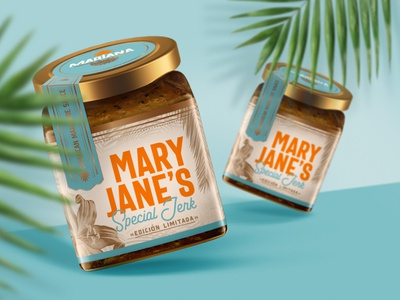 :: MARY JANE´S :: illustration packaging typography branding