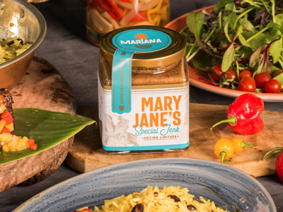 :: MARY JANE´S :: nature logo packaging design