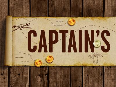 Captain Morgan SmeerBoel Festival treasure map rum festival captainmorgan illustration branding design branding art direction design