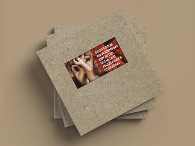 Terre des Hommes - Annual Report cover cardboard annualreport terredeshommes branding design branding