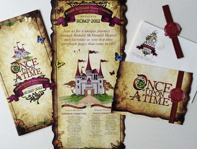 Once Upon A Time - Invitation
