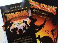 Zoomerang - Invitation Design