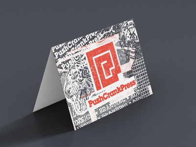 PCP Notecards notecard print illustration logo design collage art collage graphic design graphic branding design