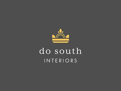 Do South Interiors logo design logo graphic design typography graphic branding design