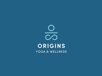Origins Yoga logo design logo graphic design typography graphic branding design
