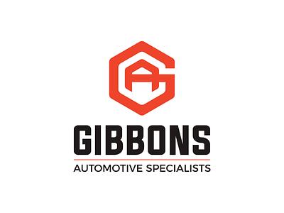 Gibbons Automotive automotive car website web site design logo design graphic icon typography ui vector logo design branding