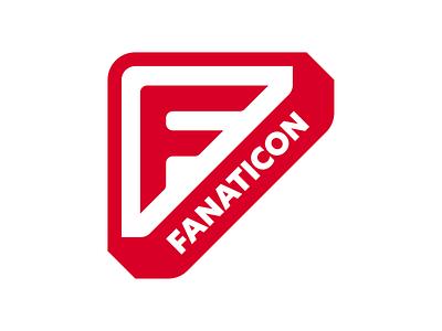 Fanaticon 2019 logo booklet merch merchandise fan robot convention logo design design