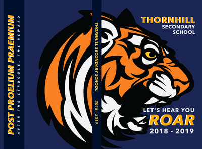 TSS 2018-2019 Yearbook Cover