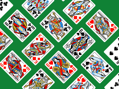 Pixelart playing cards suit clubs spades hearts queen of hearts diamonds jack queen king game cards pixel cards pixelated pixel cards deck pixelart design playing cards illustration