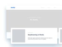 Denkly blog concept