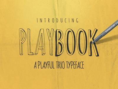 Playbook Typeface