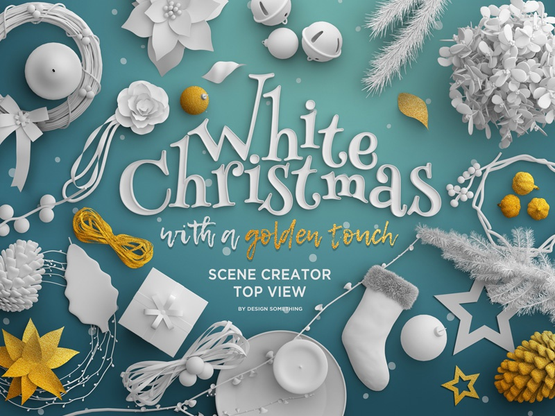 Christmas Top View.Christmas Top View Scene Creator By 2bundles On Dribbble