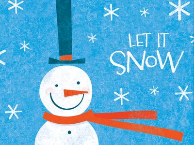 Snowman By Steve Mack