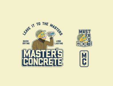 Master Concrete Logo Array