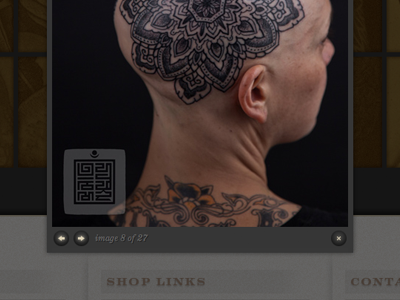 Saved Tattoo Lightbox