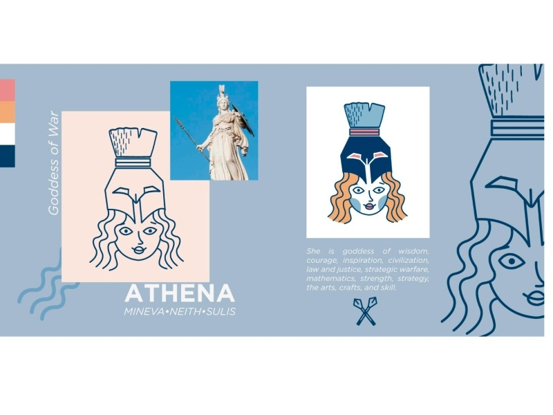 GreekGods Series woman illustration illustration art illustrator visual art woman character vector design icon illustration