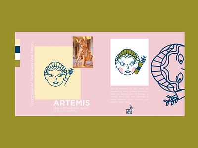 GreekGods Series woman illustration woman visual art vector illustrator illustration art illustration icon design character