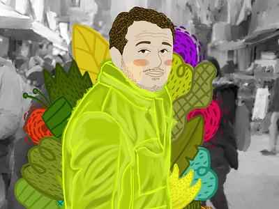 portrait vector design nature illustration illustration digital flower illustration character visual art illustrator illustration art illustration