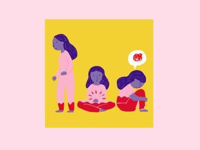 Menstruation Project flower illustration illustration digital woman illustration woman design character visual art illustrator illustration art illustration